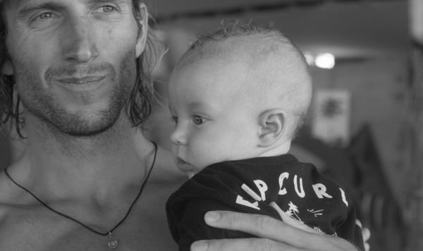 owen wright y su hijo