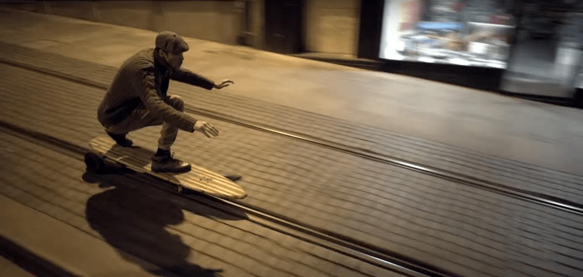 Nuevo Skateboard para surfear la ciudad