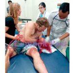 Surfista atacado en Lombok