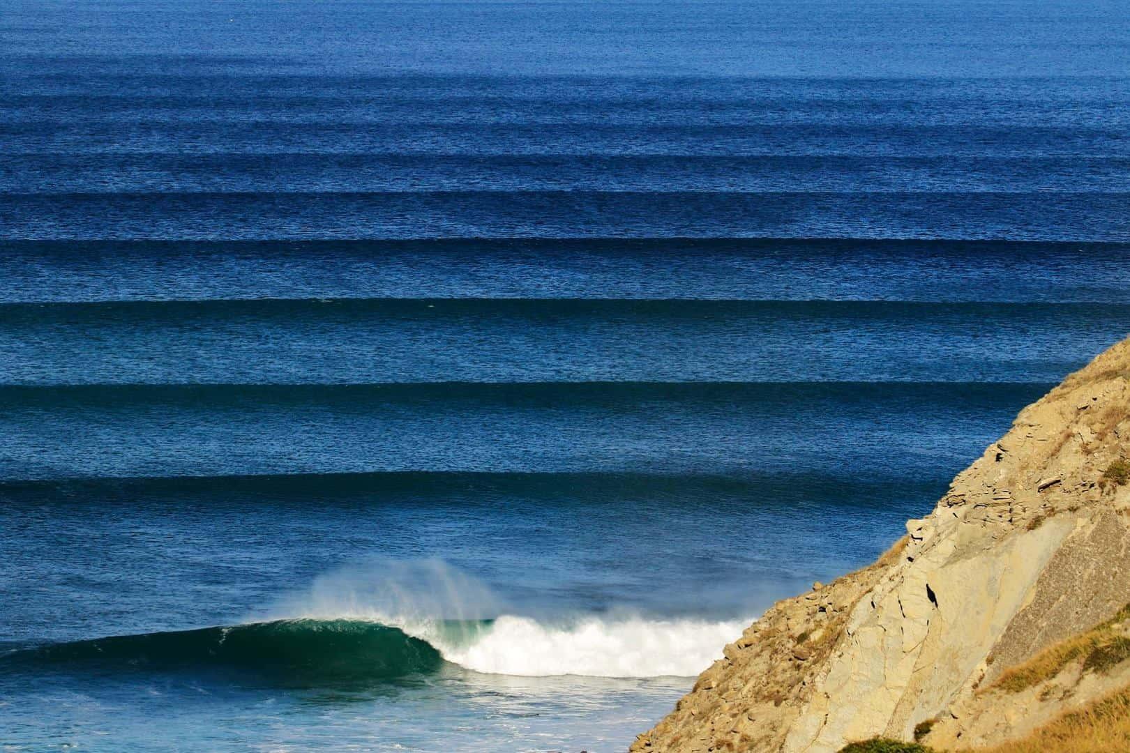 Meñakoz olas grandes