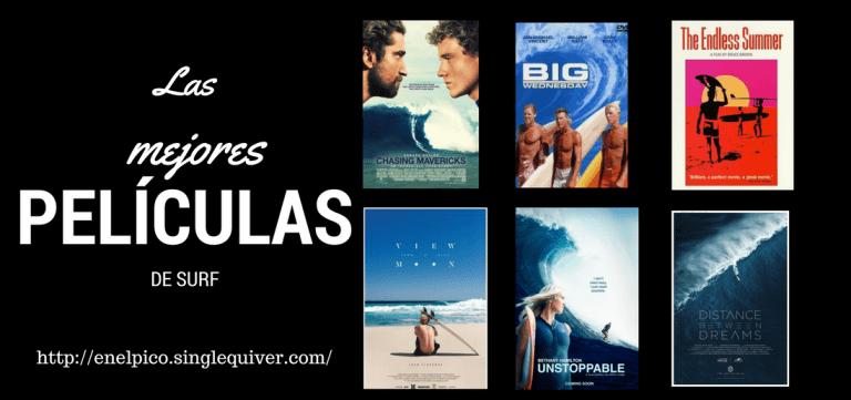 Las 15 mejores películas de surf de la historia