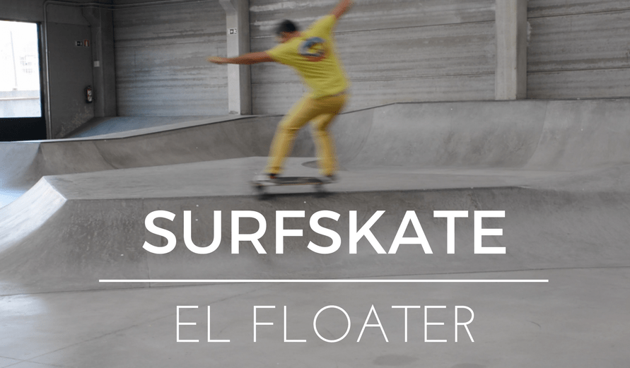 Surfskate maneuver floater