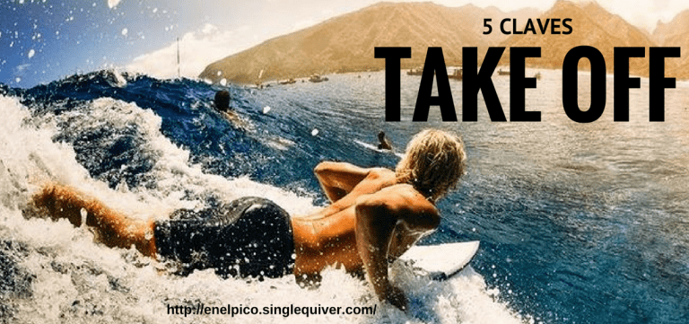 5 claves para hacer un buen Take Off en el surf