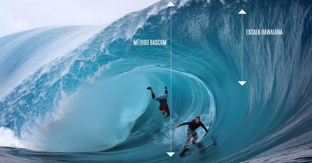 ¿Cómo se miden las olas en el surf?