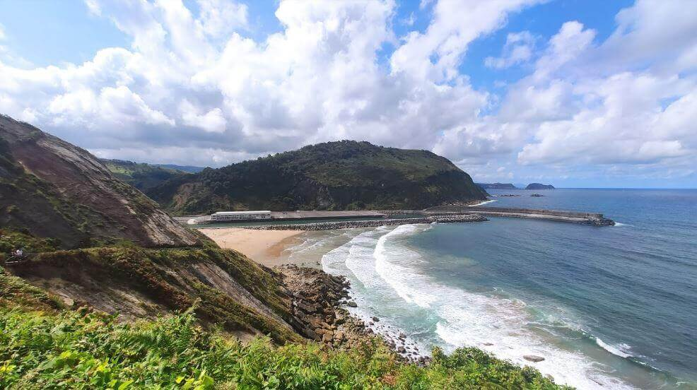 Olas playa de la Antilla