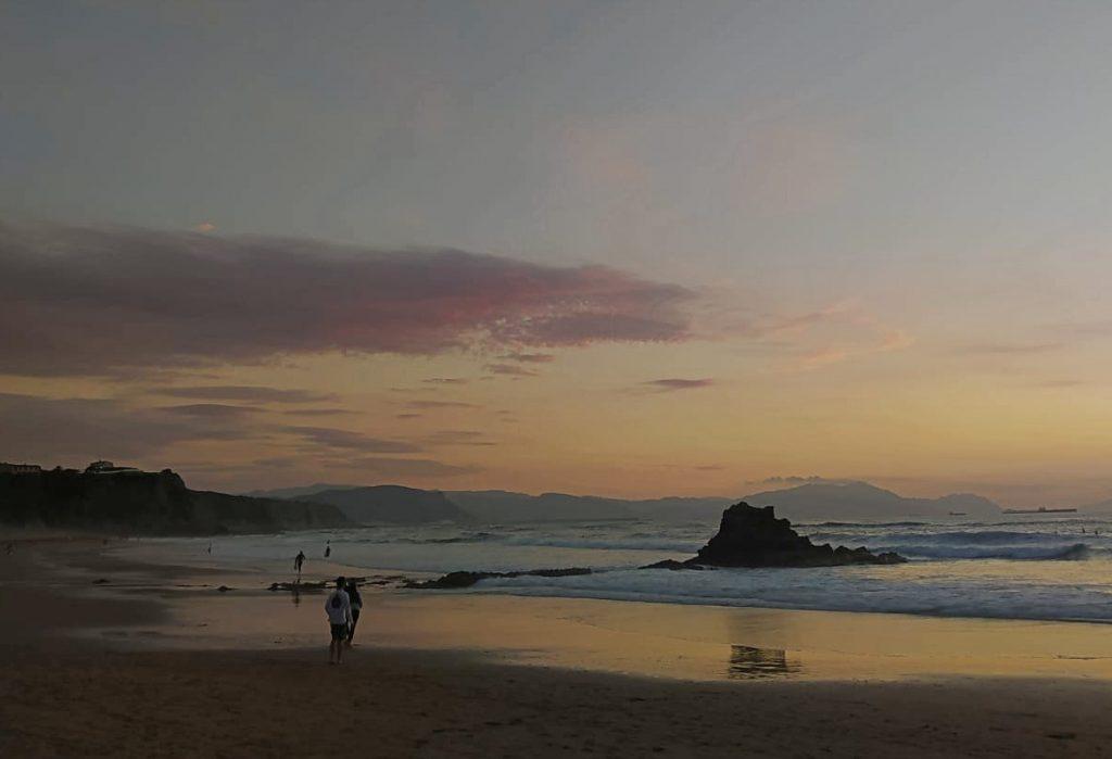 Playa de Arrietara y Atxabiribil Sopelana