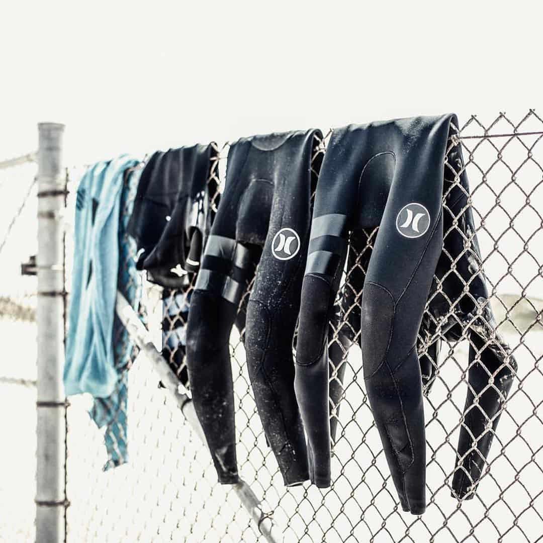 wetsuit maintenance hang waist