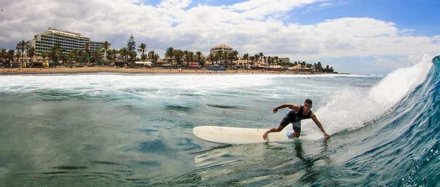 Canary Islands surf