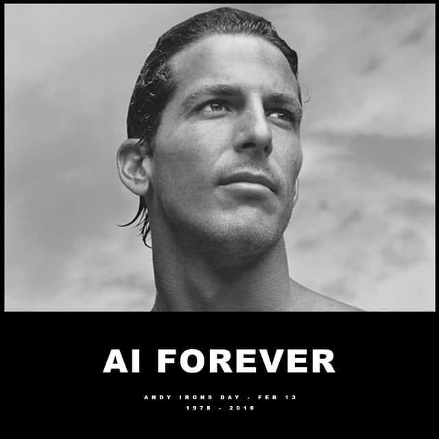 Homenaje a Andy Irons 7 años después de su muerte