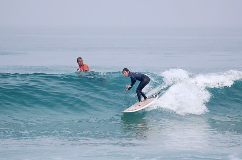 funboard intermidiate surfing