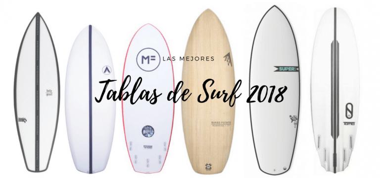 Las 10 mejores tablas de surf de 2018