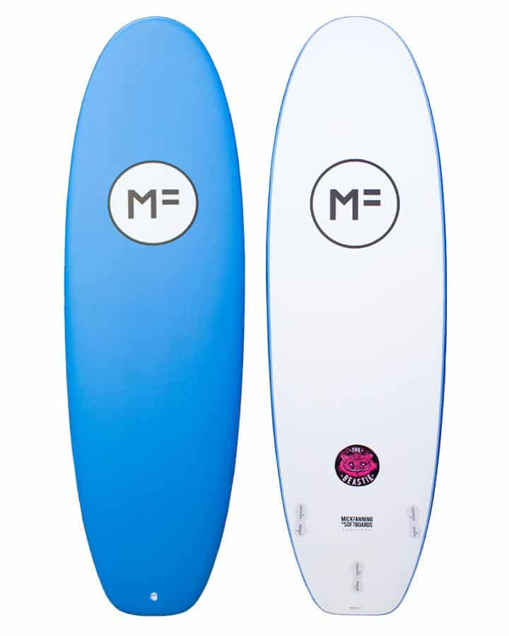 Mick Fanning softboards The Beastie