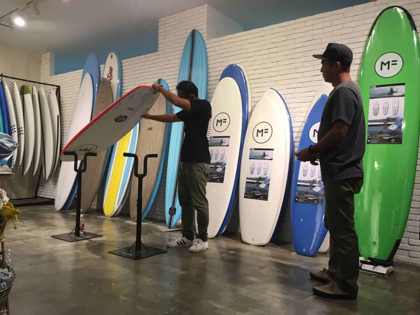 Mick fanning soft board