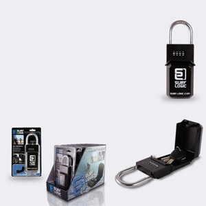 Paddle board gift key lock