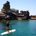 Paddle board in Spain