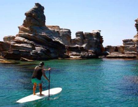 Paddle board in Spain