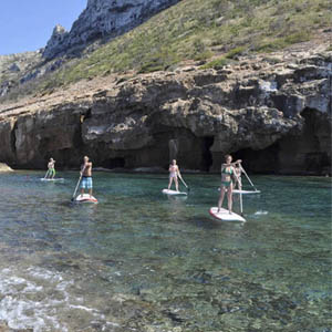 Paddleboard in Spain