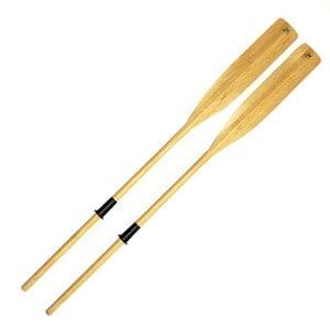 wooden SUP oars