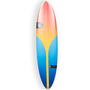 Types of surfboards funboard