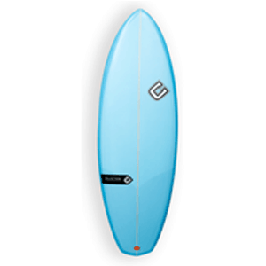 Types of surfboards Hybrid