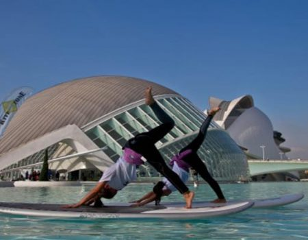 Paddle board in Valencia