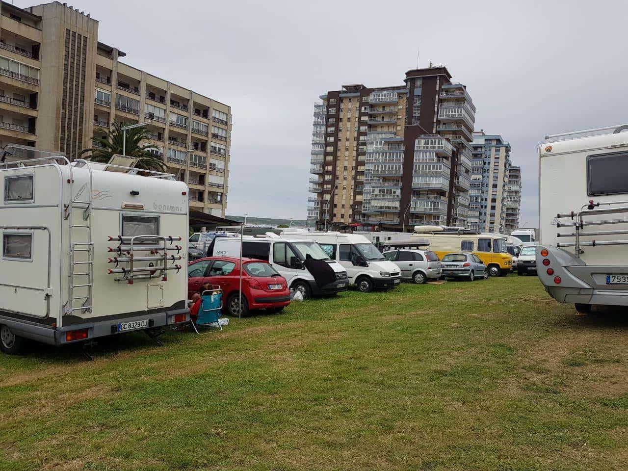 Salinas International Longboard Festival Campers