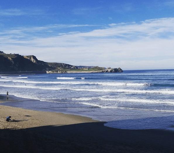 playa salinas asturias