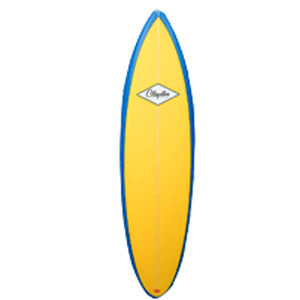 types of surfboards retro