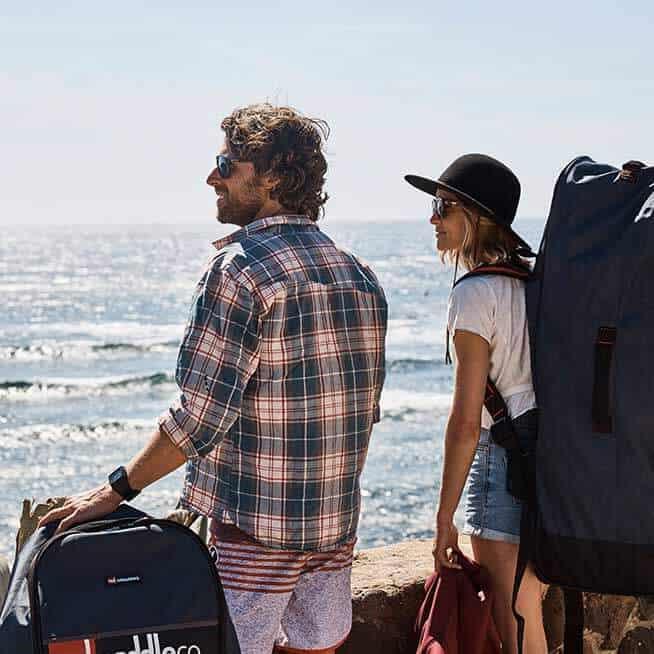 transportar paddle surf