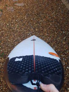DHD sweet spot surfboard