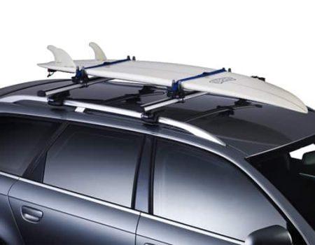 como llevar tabla surf en la baca coche