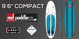"""9´6"""" compact red paddle co"""