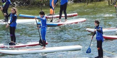 escola catalana de surf paddle surf camp barcelona
