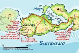 mapa surf sumbawa