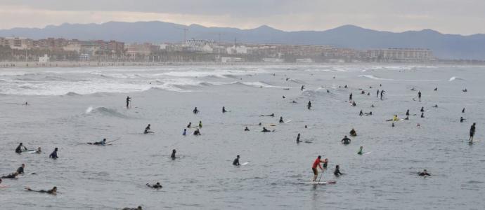 paddle surf valencia malvarrosa