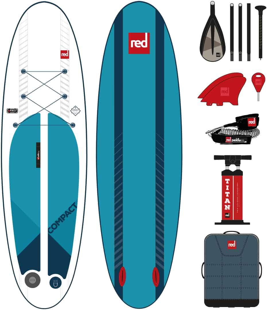 Compact Ride Red Paddle Co