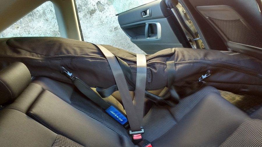 tablas surf dentro del coche