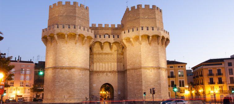 Torres de Serrano y Torres de Quart