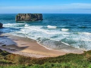 mejores playas asturias andrín