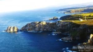 rutas del cabo de peñas en Asturias