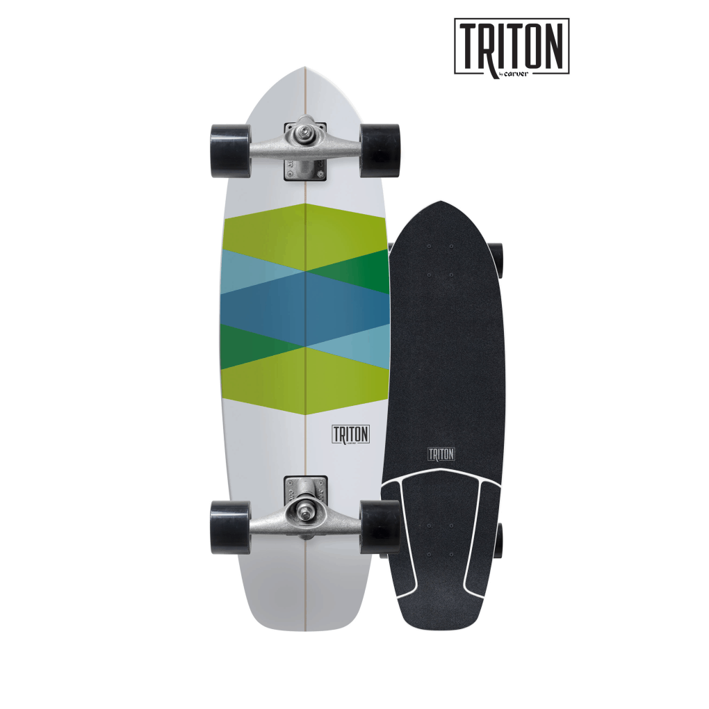 Green Glass Triton Surfskate