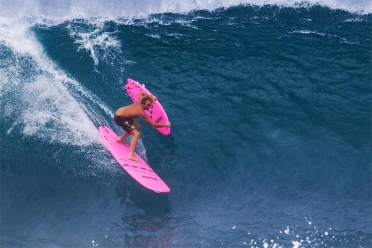 jamie obrien surf con softboard pipeline