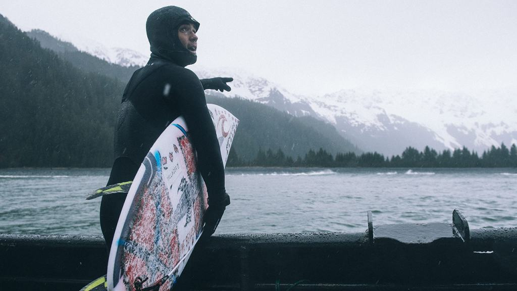 Winter surf tips