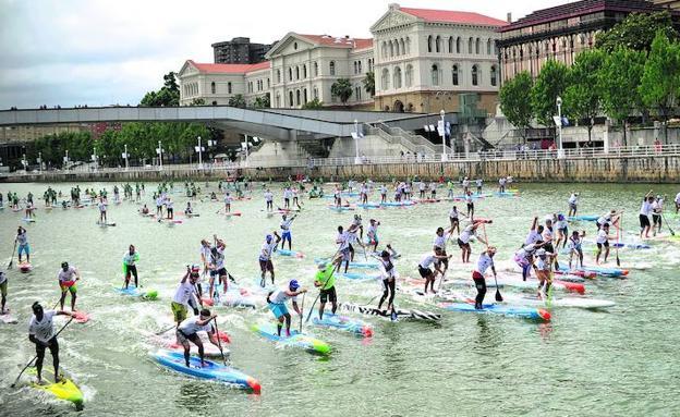 mundial paddle surf bilbao