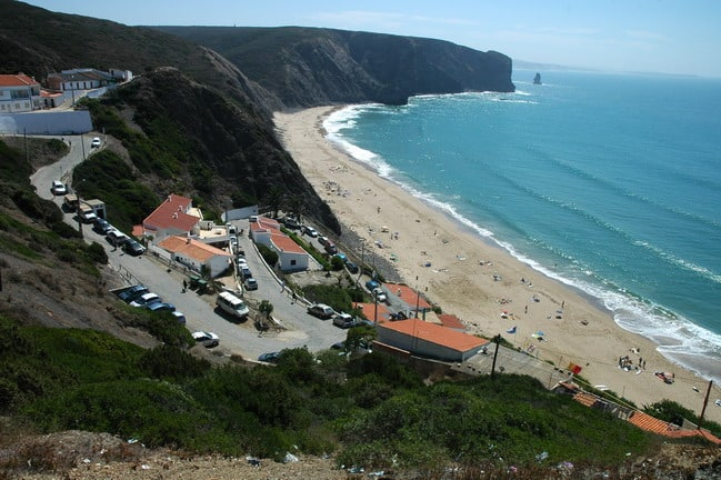 Praia do Arrifana surfspot