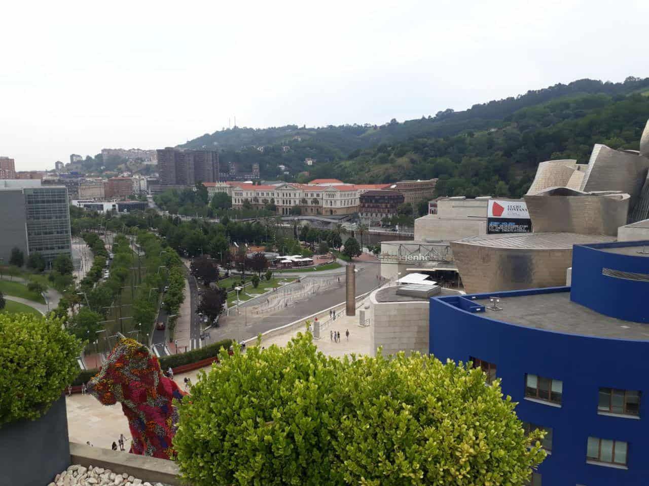 Vistas hotel Domine Bilbao