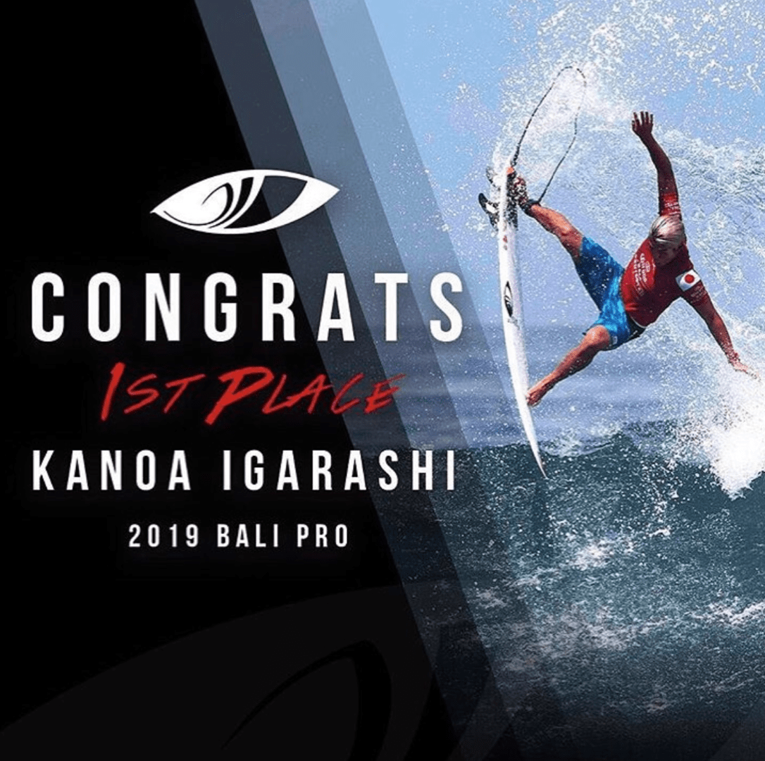 Kanoa Igarashi Sharp Eye Surfboards
