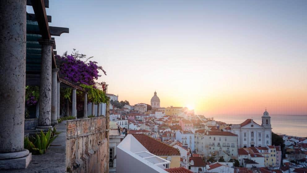 mirador santa luzia Lisboa