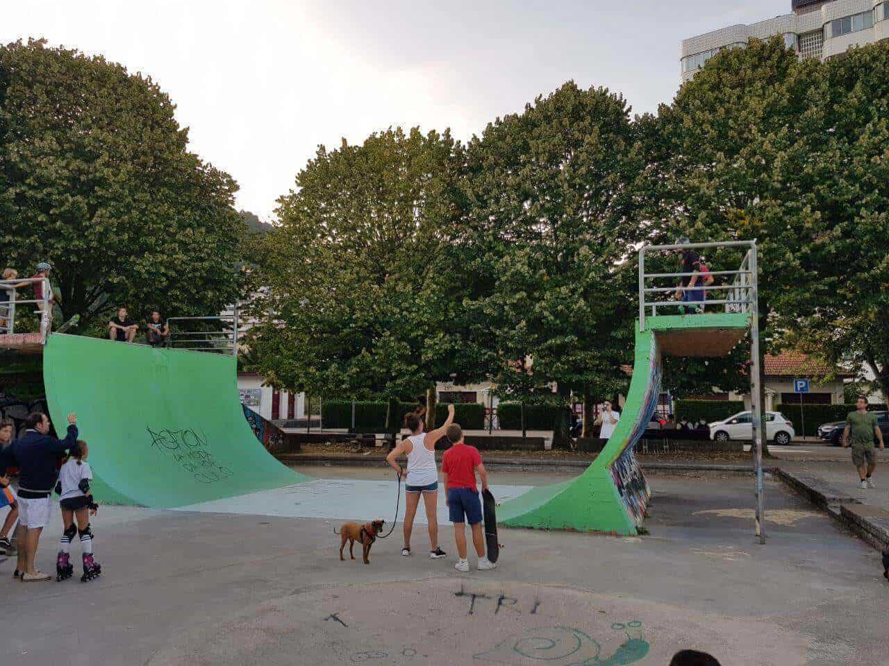 skatepark bakio