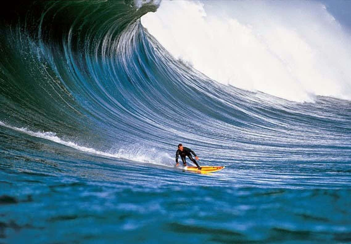 Jeff Clark Mavericks surf